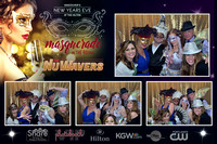 12-31-16 Vancouver's New Years Eve at the Hilton Masquerade in the Round